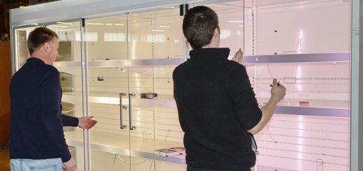 renovierte Kühlmöbel